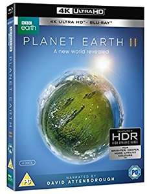 Planet Earth II (4k UHD + Blu-ray) @ Amazon
