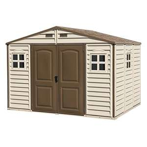 [Amazon Glitch?] Duramax Woodside 10 x 8 Vinyl Storage shed with three fixed windows + Foundation Kit - £456.08 Delivered (Same Model As The £719 Shed) @ Amazon **Deal Now Confirmed As The V2 Shed For The Price Of The Old Model**