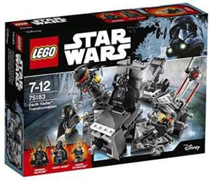 Lego Darth Vader Transformation £13.81 delivered with Prime @Amazon