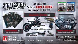 Homefront Revolution PS4 Game only edition and Xbox One - £3.99 @ GAME