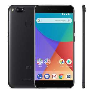 Official Global Version]Xiaomi Mi A1 5.5 inch Smartphone Android One Dual Rear 12.0MP Cam Snapdragon 625 4GB 32GB IR Remote Control Full Metal Body - Black - £144.64 @ Geekbuying