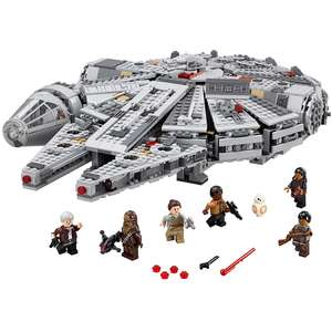 LEGO Star Wars Millennium Falcon 75105 -  £75.98 with voucher + Free Lego Star Wars R3-M2 Minifigure + Free 4 Pack of Mini-Figures  @ Toys r us