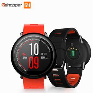Cheapest in ORANGE colour - Xiaomi Huami AMAZFIT Heart Rate Smartwatch - INTERNATIONAL VERSION for £72,94 with code @ GearBest