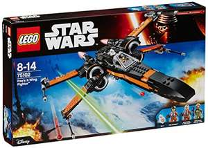 LEGO Star Wars 75102 Poe's X-Wing Fighter at Amazon for £42.87