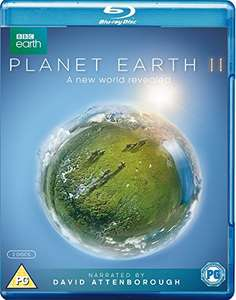 Planet Earth II BD [Blu-ray] [2016], £9.83 from Amazon (£11.82 non prime)