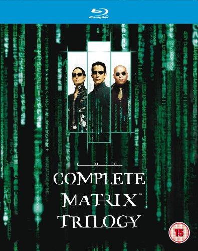 Complete Matrix Trilogy Blu-ray @ Amazon £7.99 (Prime) £9.98 (Non Prime)