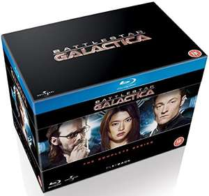 Battlestar Galactica - The Complete Series [Blu-ray] [2004] [Region Free], £23 from amazon