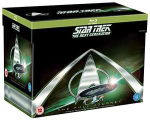 Star Trek: The Next Generation Complete Seasons 1-7 [Blu-ray] @ Amazon for £42.50
