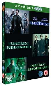 The Matrix Trilogy (Pre-Owned) £1.99 inc. FREE DELIVERY or 4 DVDs for £3.98 - Buy Two, Get Two Free! @ Music Magpie