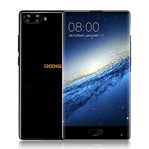 DOOGEE MIX 4G FDD-LTE Smartphone 6GB/4GB RAM 64GB ROM 5.5inch AMOLED Display 720*1280P Helio P25 Octa-core 2.5GHz CPU Android 7.0 16.0MP+8.0MP Dual Rear Camera 5.0MP Front Quick Charge Dual Sim - £149.59 @ Sold by Coravo and Fulfilled by Amazon