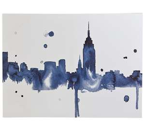Collection Illustrative New York Printed Canvas - Only £3.99 at Argos! (    Was £16.99!)