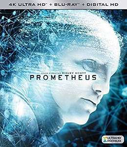 Prometheus 4k uhd blu ray.  £13.99 (Prime) £15.98 (Non Prime) @ Amazon