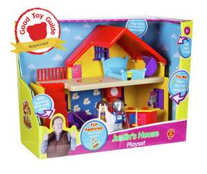 Justin's house play set - £7.99 instore @ Home Bargains