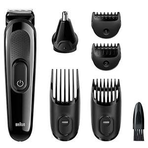 Braun MGK3020 Multi Grooming Kit - 6-in-one from down from £19.99 now £14.99 (Prime) £19.74 (Non Prime) possibly £13.99 with voucher
