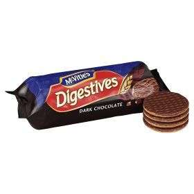 MCVITIE'S DIGESTIVE DARK CHOCOLATE 51P @ LIDL