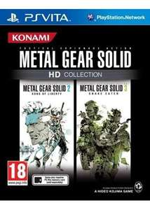 Metal Gear Solid HD Collection (PS Vita) £13.49 / Fate/Extella: The Umbral Star! (PS Vita) £14.84 Delivered @ Base