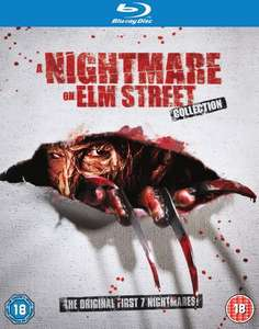 Nightmare On Elm Street 1-7 Blu-ray 2011 Region Free £12.60 Amazon Prime (£14.59 without)
