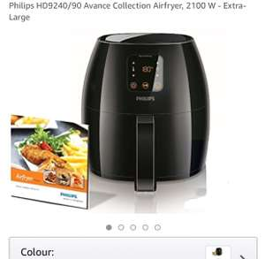 Philips HD9240/90 Avance Collection Airfryer, 2100 W - Extra-Large - AMAZON - £157.99
