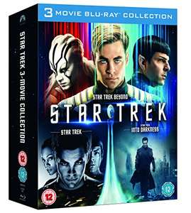 Star Trek/Star Trek Into Darkness/Star Trek Beyond Box Set Blu-ray £10.42 Amazon Prime / without £12.41