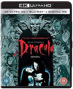 Dracula 4k ultra blu ray - £14.99 (Prime / £16.98 non Prime) @ Amazon