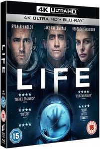 Life 4k ultra blu ray - £14.99 (Prime) £16.98 (Non Prime) @ Amazon