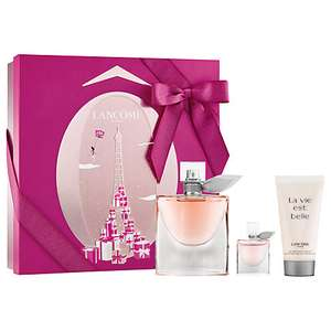 Lancôme La Vie Est Belle 50ml Eau de Parfum Fragrance Gift Set With 50ml Body Lotion and 4ml Mascara Free c&c @ John Lewis - £34.71