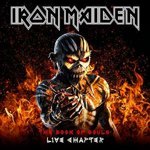 Iron Maiden - The Book Of Souls Live Chapter Standard Edition 2 CD - £7.99 (Prime) £9.98 (Non Prime) @ Amazon