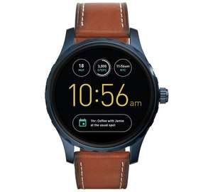 Fossil Q Marshal Brown Leather Strap Smart Watch @ Argos £139.99