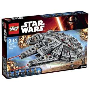 Lego Star Wars Millenium Falcon Reduced to £75.98 Amazon