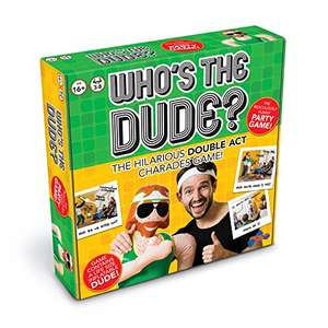 Who's the Dude? Fun game for Christmas £13.08 (Prime) £17.83 (Non Prime) at Amazon