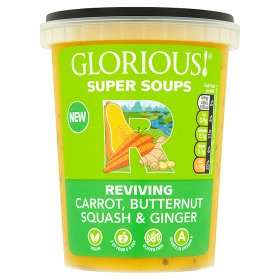 Glorious! Super Soups (600g) (7 Varieties to choose from) all are GLUTEN FREE was £2.00 now £1.00 (Rollback Deal) @ ASDA