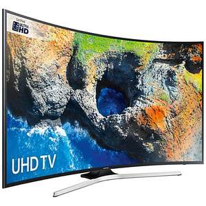 John Lewis 5 year guaranty price match argos: Samsung 49 Inch 49MU6220 Curved 4K UHD Smart TV with HDR £449.10 (With price match) + 3 Month NOW TV Entertainment Pass