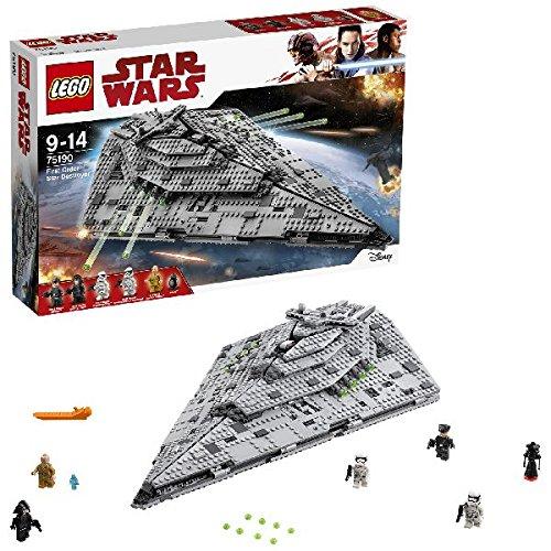 LEGO Star Wars The Last Jedi 75190 First Order Star Destroyer Toy - £75.99 @ Amazon
