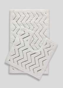 MATALAN 2 Piece Bath Mat Set RRP 12