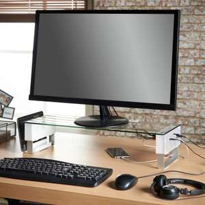 Great monitor stand with USB & audio @ Domu, £22 inc delivery