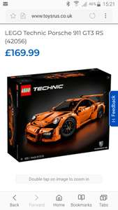 LEGO Technic Porsche 911 GT3 RS (42056) - £136 after using 20% off voucher @ Toys r Us