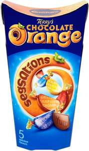 Terry's Chocolate Orange Segsations Mixed Chocolate Carton (300g) ONLY £2.00 @ Asda