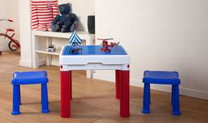 Keter ConstrucTable Kids Activity / Play Table + 2 Chairs (compatible with Lego + Duplo) was £40 now £20 + in 3 for 2 @ Tesco Direct
