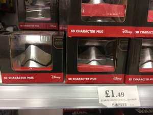 Star Wars character mugs @ home bargains - £1.49
