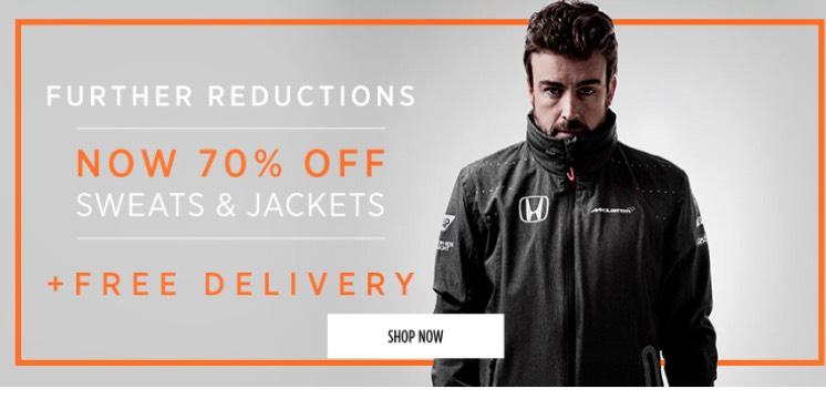 McLaren Honda Sweater £15 plus free delivery @ McLaren Store
