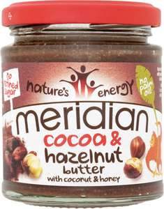 Meridian Cocoa & Hazelnut Butter (170g) was £2.79 now £2.00 (Rollback Deal) @ Asda