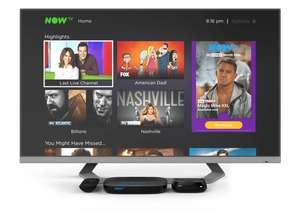 Now TV Smart Box with 3 Months Entertainment Pass or 2 months Cinema pass - £19.99 @ Now TV