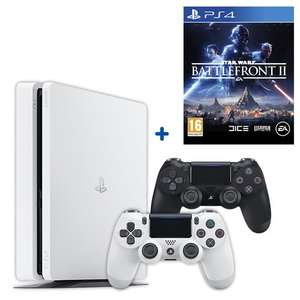 PS4 White 500GB Star Wars: Battlefront II Bundle & Extra Controller £259.99 @ smyths