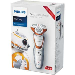 Star Wars shaver Wet and dry electric shaver 84.99 @ Philips (Another 25% off with code)