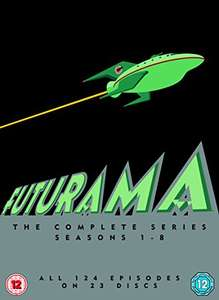 Futurama Season 1-8 DVD £16 (Prime) £17.99 (Non Prime) @ Amazon
