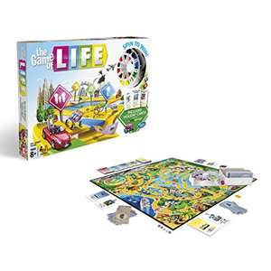 Game Of Life from Hasbro Gaming for £13.19 (with prime or £17.18 non-Prime)