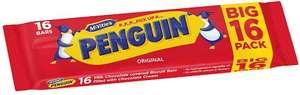 McVitie's Penguin Twinpack (16 = 393g) was £3.00 now £1.50 @ Sainsbury's