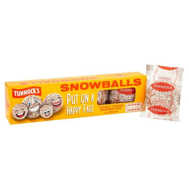 Tunnocks Snowballs (Pack of 4) 55p @ Home Bargains