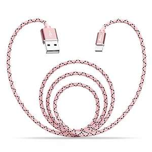 Aimus Lightning Cable Nylon Braided for iPhone iPad iPod Sold by Aimus Direct and Fulfilled by Amazon £3.69 Prime