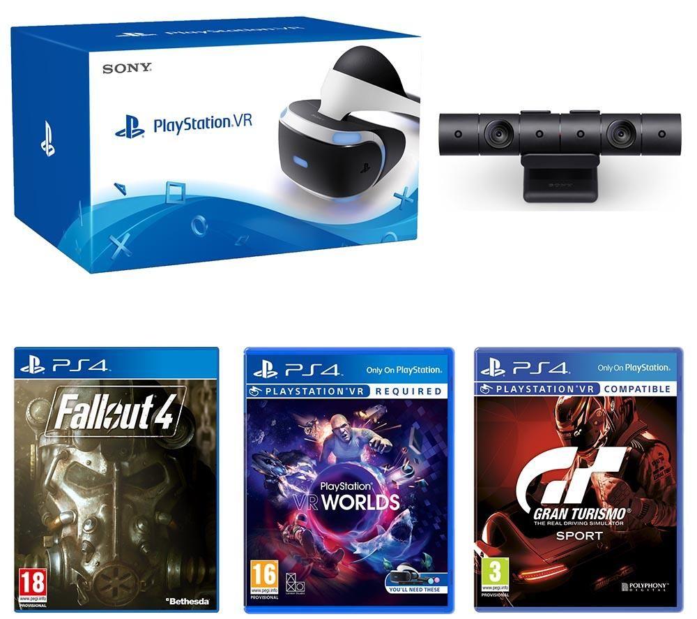 SONY PlayStation VR, Camera V2 & Games Bundle  £250 @ Currys